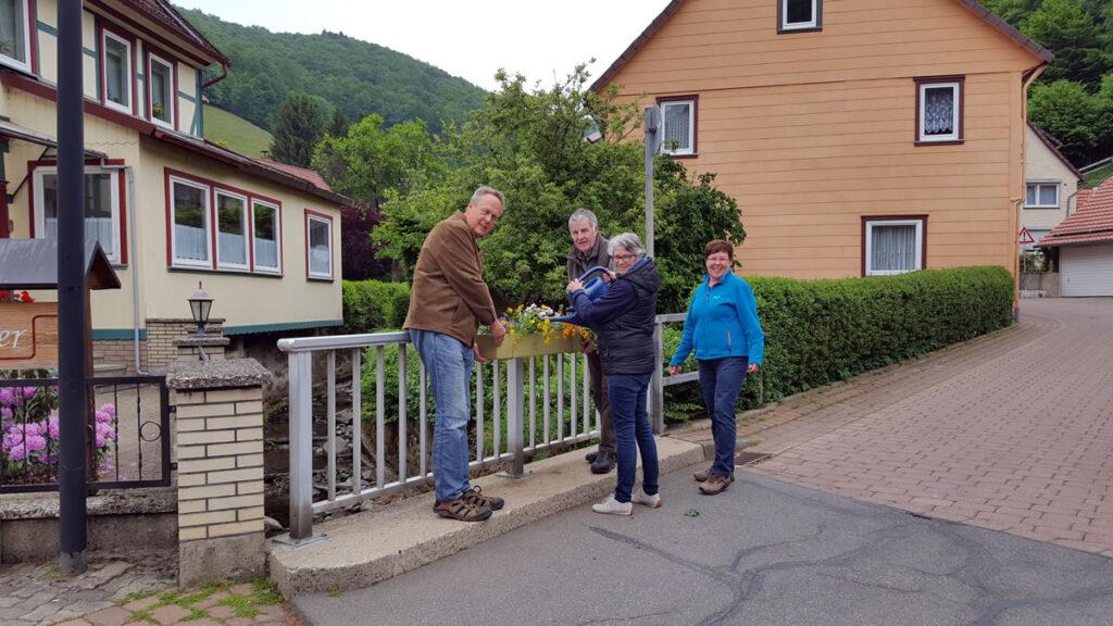 Blumenkästen für Lonau