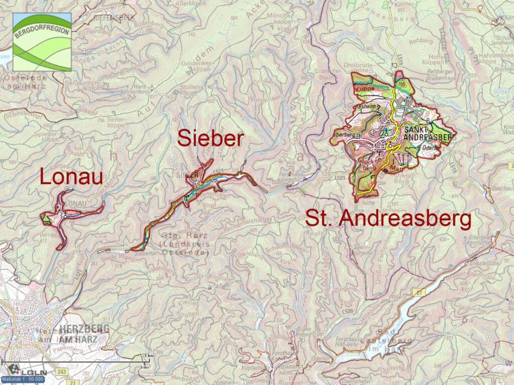 St. Andreasberg, Lonau, Sieber