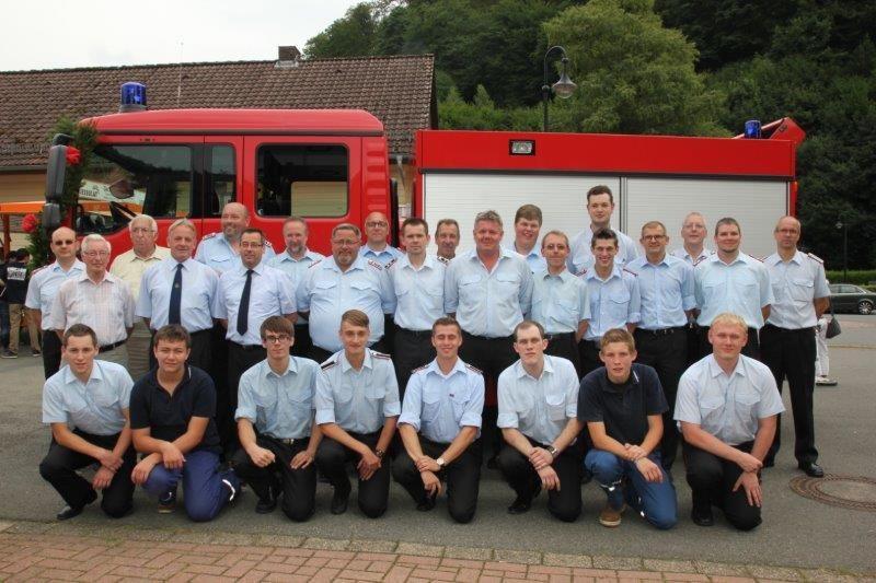 Feuerwehr Lonau - Gruppenfoto